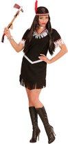 Zwart en wit indianenkostuum voor vrouwen - Volwassenen kostuums