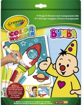 Color Wonder box set Bumba - Kleurboek incl. 5 Stiften