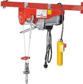 Elektrische lier 1000W 300 / 600 kg - Bumperlier -Elektrische takel