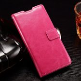 Cyclone wallet hoesje Alcatel One Touch Pop 5.5 roze