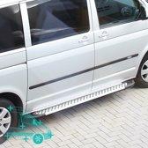 Treeplanken Volkswagen Transporter | Aluminium | VW Transporter T5 2003+ | VW Transporter T6 2015+ | L1 | Aluminium