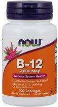 Vitamine B-12 2000mcg 100lozenges