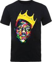 Biggie shirt - The Notorious B.I.G. Colorful Crown maat XL