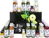 DrDetoxBox 5-daags Veggie Juice Detox Sapkuur (45 sapjes)