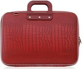 Bombata Croco Hardcase Laptoptas 15 inch Red