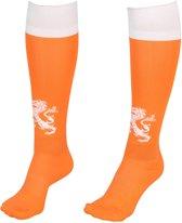 Nederlands Elftal Voetbalsokken Thuis Oranje-Wit-34-36 S