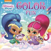 Kleurboek Shimmer & Shine color fun