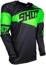 Shot Crossshirt Contact Infinite Neon Green-M