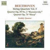 Beethoven: String Quartets Vol 5 / Kodaly String Quartet