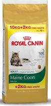 Royal Canin Maine Coon - Kattenvoer - 10 kg + 2 kg