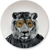 Mustard kinderbord Wild Dining - Leeuw
