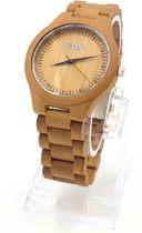 WOED | houten - Horloge - 44 mm - Classic