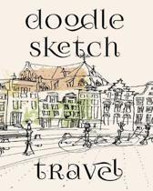 Doodle Sketch Travel