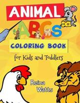 Animal ABCs Coloring Book