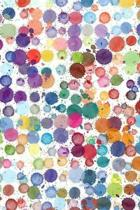 Colorful Dots Journal: Lined Notebook to Write In for Note Taking, Journal Writing, Jotting Down Thoughts