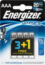 ENERGIZER Ultimate Lithium Micro AAA 1,5V