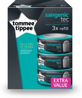 Tommee Tippee - Sangenic Tec 3 pak navulcassettes