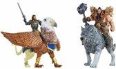 Warcraft Mini Figures Deluxe Set - Lothar vs Blackhand