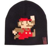 Nintendo - Super Mario Beanie / Muts - Zwart