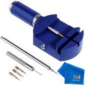MMOBIEL Horloge band inkorter - Schakel pin verwijderbaar - Verstelbare reparatie set - gereedschap voor horlogemakers