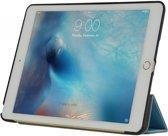 iPad 2017; Smart Case, Robuuste Bescherm-hoes voor uw iPad 2017,  extra luxe cover met slaapfunctie, blauw , merk i12Cover