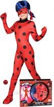 Ladybug Miraculous™ kostuum voor kinderen - Verkleedkleding - Maat 152/164
