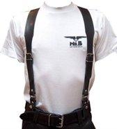 Mister b leather braces m