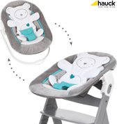Hauck Alpha Newborn bouncer 2 in 1 Wipstoeltje - Hearts Grijs
