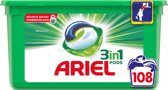 Ariel 3in1 Pods Original Wasmiddelcapsules - Kwartaalbox 3 x 36 Wasbeurten