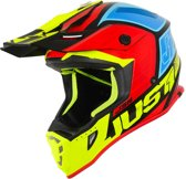 Just1 J38 Crosshelm Blade Yellow/Red/Blue/Black Gloss-M