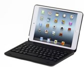 Shop4 - iPad Mini 4 Toetsenbord Hoes - Bluetooth Keyboard Cover Zwart