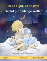 Sleep Tight, Little Wolf – Schlof gutt, klenge Wollef (English – Luxembourgish). Bilingual children's book, age 2-4 and up