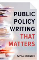 Public Policy Writing That Matters