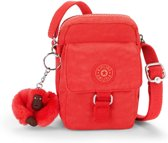 Kipling Teddy - Schoudertas - Happy Red Mix