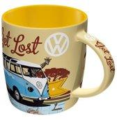 Nostalgic Art koffiemok VW Bulli Let's Get Lost