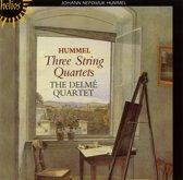 Hummel: Three String Quartets