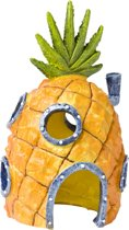 Nickelodeon Decor - Ornament Spongebob Ananashuis - 15(H)x9x8 CM - Oranje