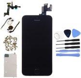 Nieuw - Voor Apple iPhone 5S - AAA+ Voorgemonteerd LCD scherm Zwart & Tools