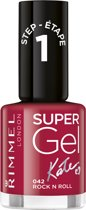 Rimmel London SuperGel Nailpolish by Kate - Rock N Roll #042 - Gel Nagellak