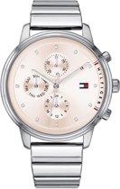 Tommy Hilfiger TH1781904 horloge - Dames - zilver - edelstaal