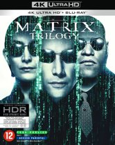 DVD cover van The Complete Matrix Trilogy (4K Ultra HD Blu-ray)