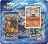 Pokemon Kaarten TCG - XY12 Evolutions Booster Blister: Braixen - Black Kyurem
