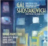 David Juritz Briggs Piano Trio - Gal Piano Trio In E Major Op.18; Va
