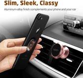 ESR - Universele Telefoon Houder voor in de Auto / boot / caravan - met stikker – 360 graden draaibaar -  Roze / Rose Gold