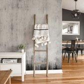 Fotobehang Beton 02 - Industrieel Behang - 288x260 cm - makkelijk aan te brengen vliesbehang