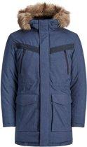 Jack & Jones Core Earth Parka Jacket Heren  Jas - Maat M  - Mannen - blauw