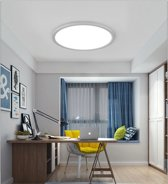 24W moderne minimalistische creatieve ronde LED plafond licht  traploos dimmen + afstandsbediening  diameter: 40cm