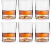 Libbey Whiskyglas – Gles – 30 cl / 300 ml - 6 stuks - hoge kwaliteit - luxe design - vaatwasserbestendig
