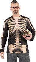 Halloween  Fotorealistisch shirt Skeleton (L)