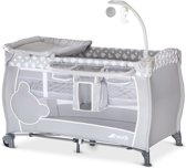 Hauck Babycenter Campingbedje - Teddy Grey